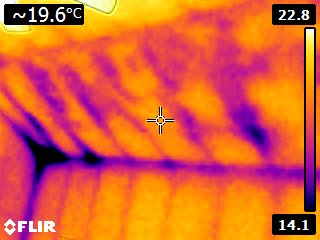Eco Insulation - Thermal reading of house