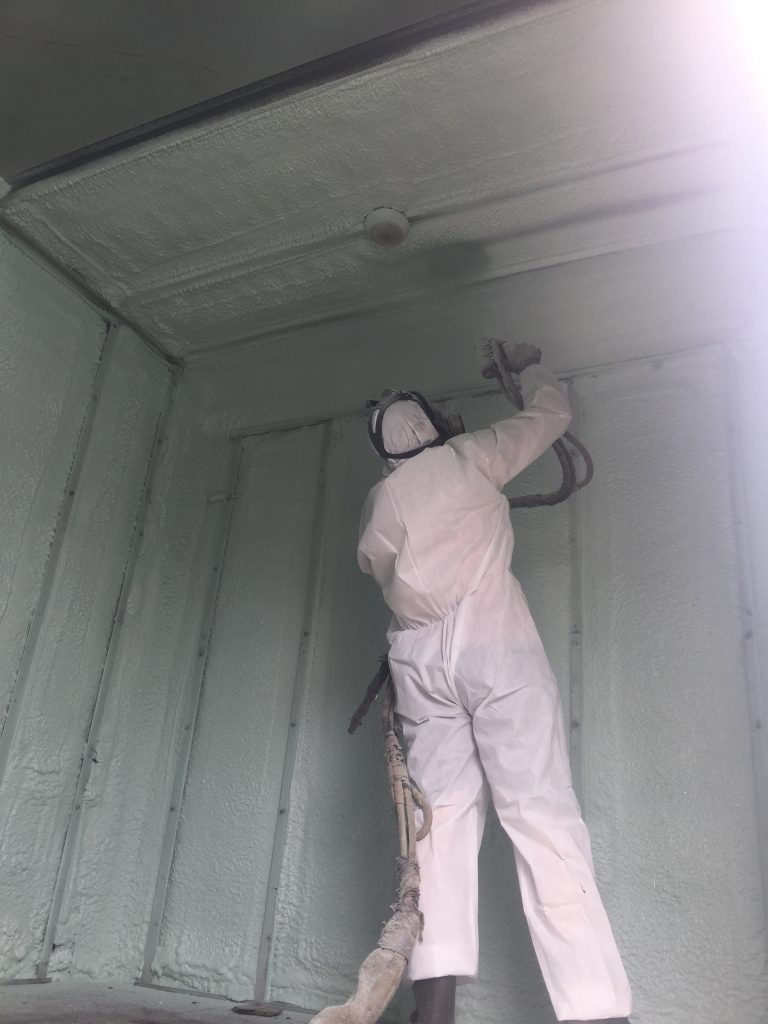 Eco Insulation - spray foam