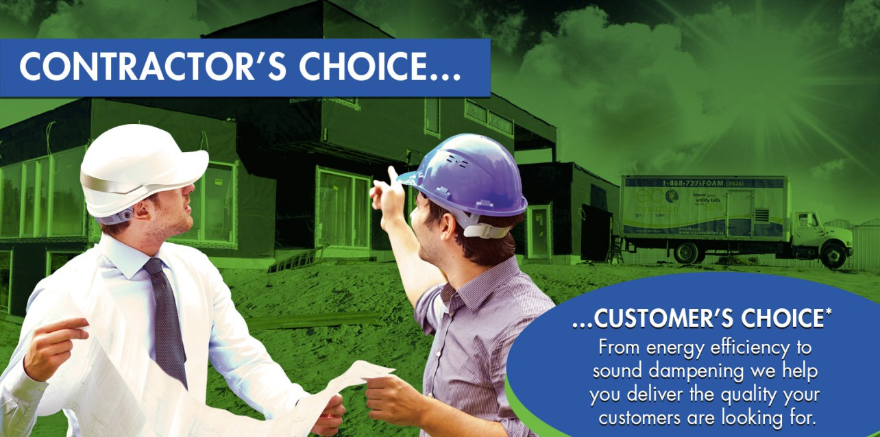 Eco Insulation - Contractors Choice & Customers Choice