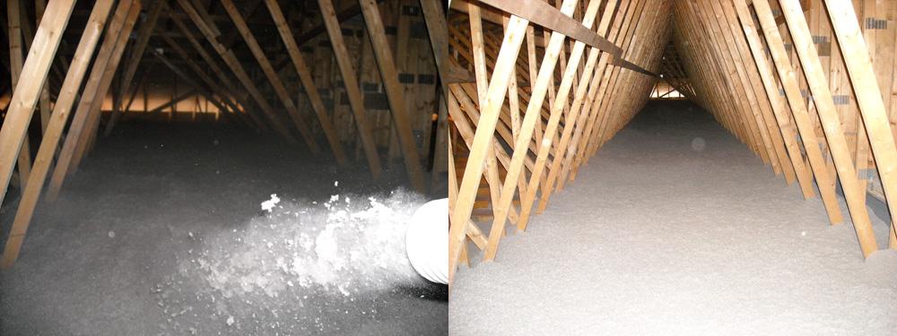Attic Insulation In Peterborough Ontario Eco Insulation