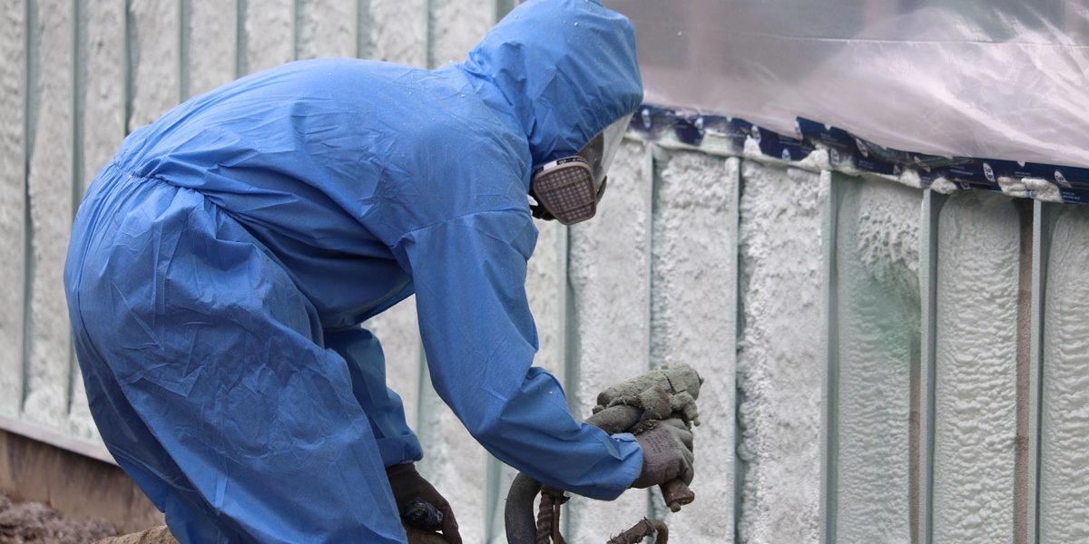 Spray Foam S Versatility Adds Energy Efficiency To Homes